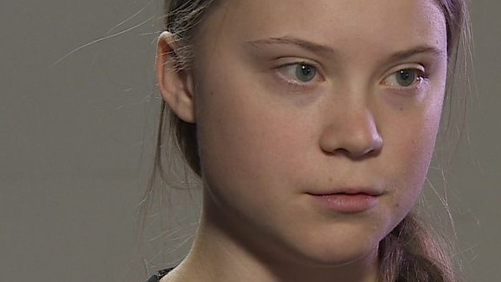 Climate change activist Greta Thunberg: 'Listen to climate scientists'