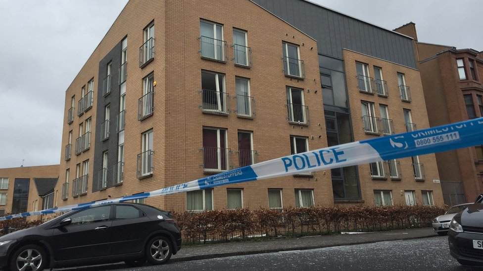 Police arrest man after Glasgow flat gas blast