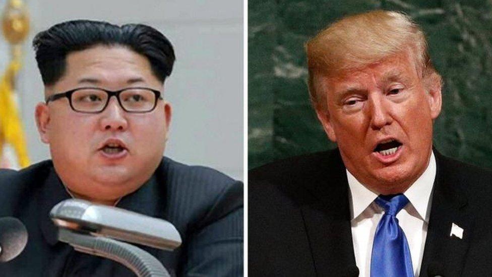 Трамп і Кім Чен Ин назвали один одного божевільними