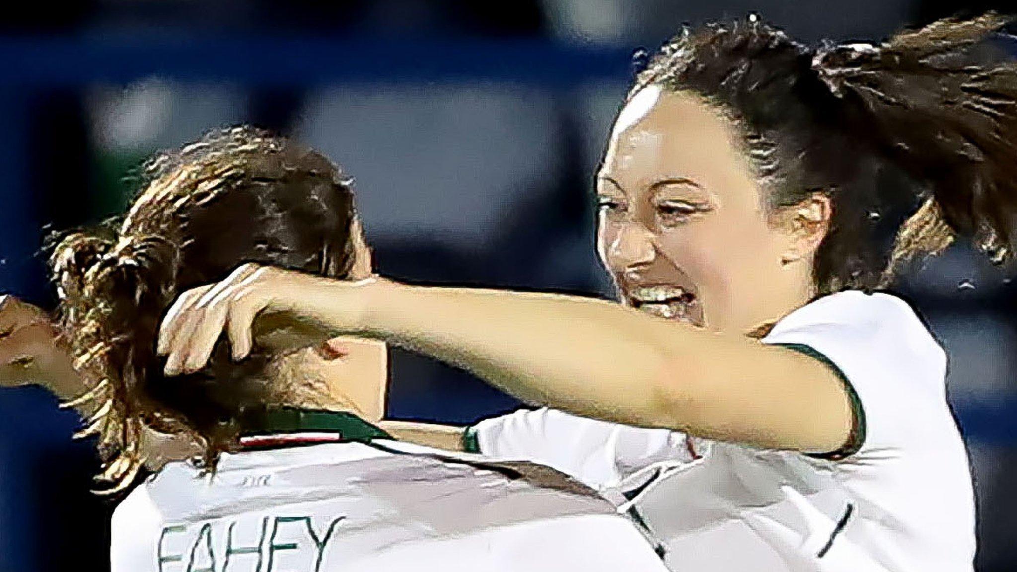 Republics women beat Northern Ireland in World Cup qualifier