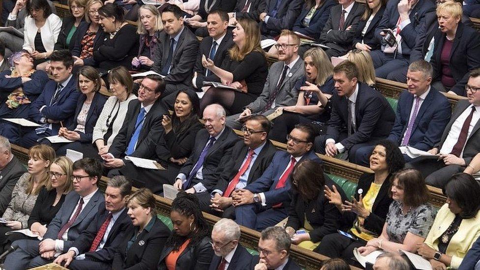 Brexit: MPs bid to break deadlock with 'indicative votes'