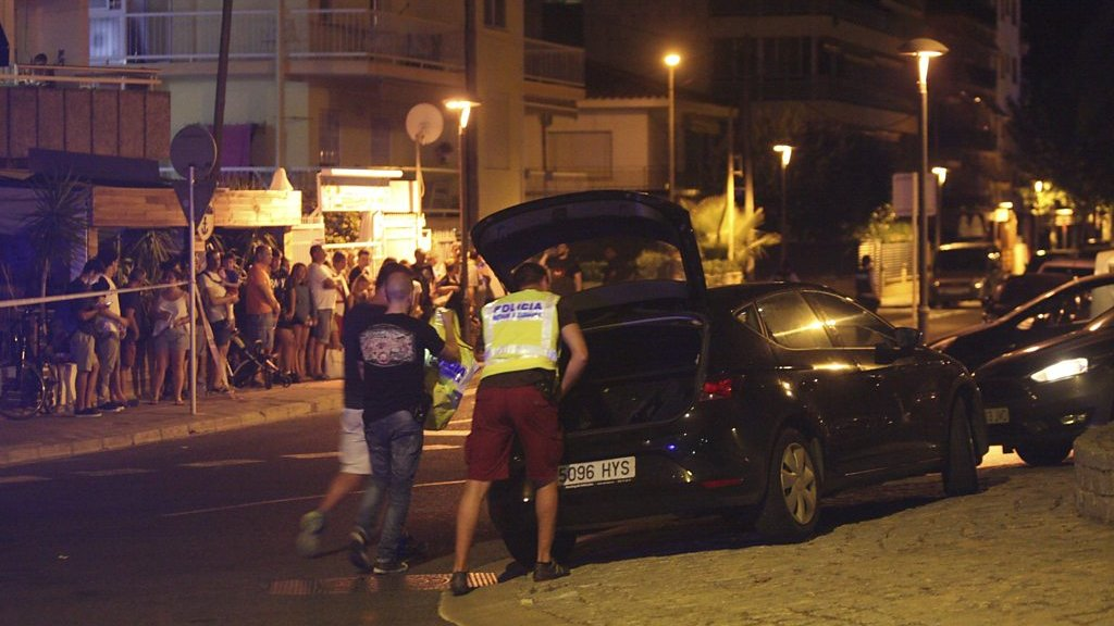 Cambrils: 'Pop pop, a couple of shots and he fell down'