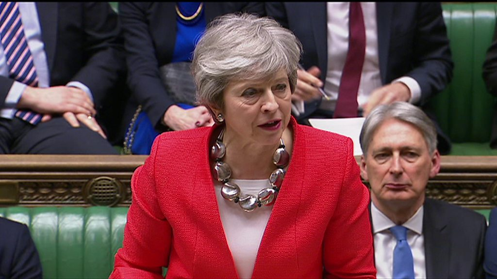 Theresa May's Brexit update after EU talks in Strasbourg