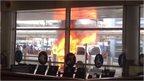 car fire 2