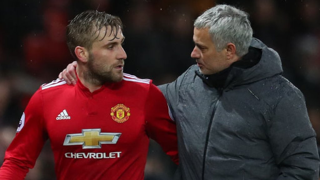 Luke Shaw: defender to sign new contract after making a 'big effort' in training