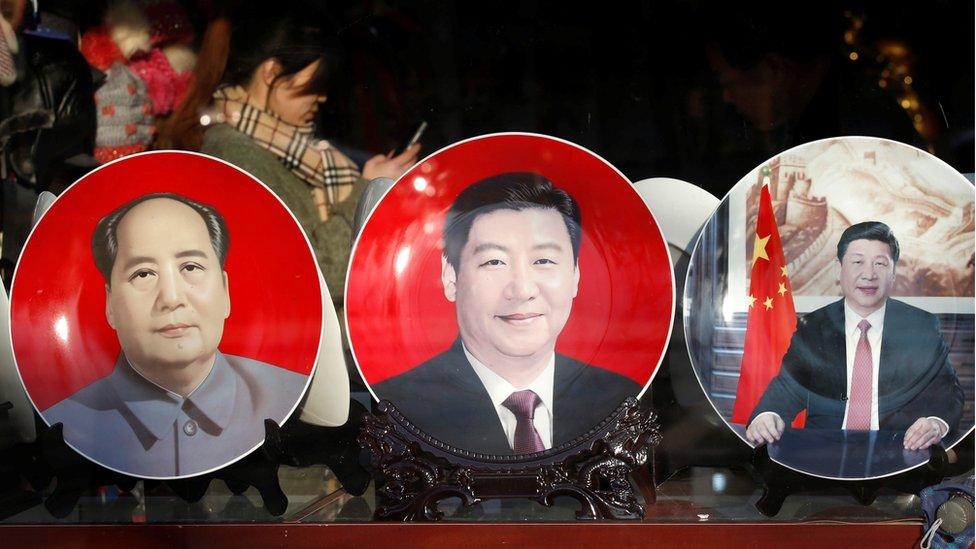 Xi Jinping fue elevado al nivel de Mao Zedong durante el más reciente congreso del Partido Comunista de China.