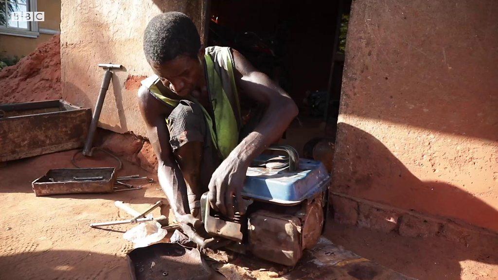 Image result for blind nigerian mechanic