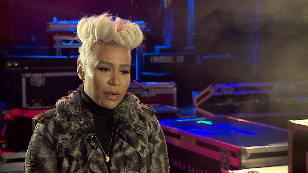 BBC News - Emeli Sande 'determined to enjoy' music this time