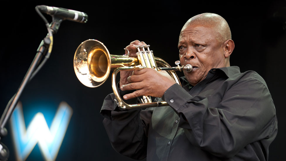 Hugh Masekela, South African jazz trumpeter, dies