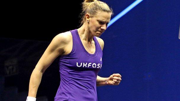British Open squash: Laura Massaro, Sarah-Jane Perry & Nick Matthew reach semis