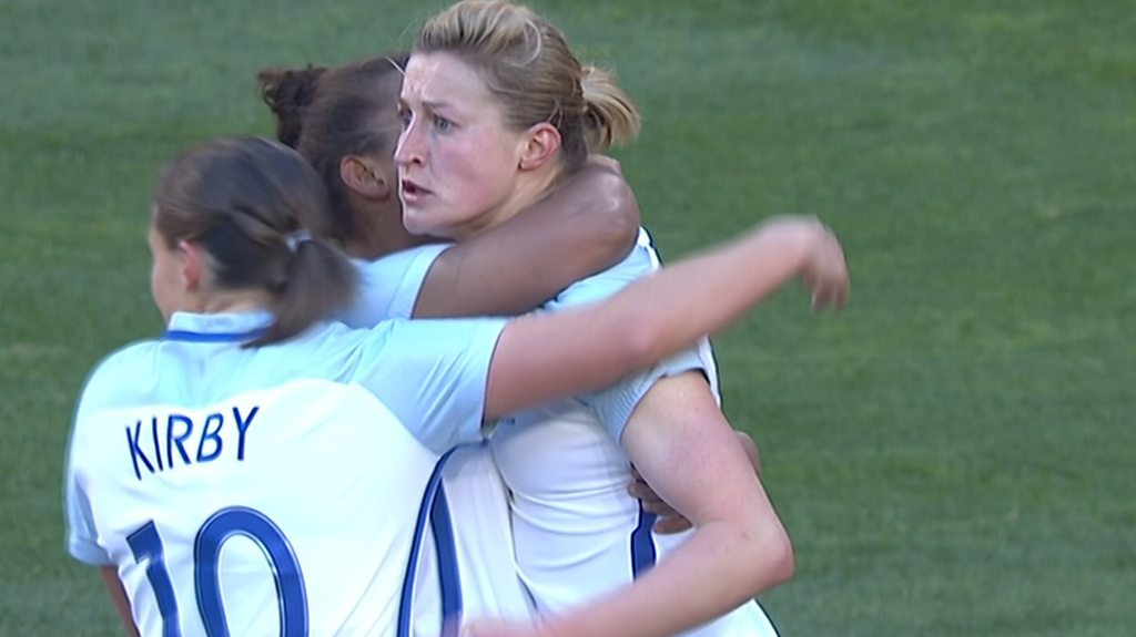 Watch: White equaliser sets up 2-2 draw with Germany