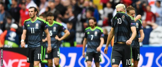 Wales players disappointed