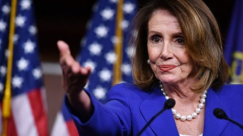 brand new e3f6b 470e1 Pelosi warns over post-Brexit trade deal - The US Speaker was speaking  ahead of her trip to Ireland later on Tuesday.