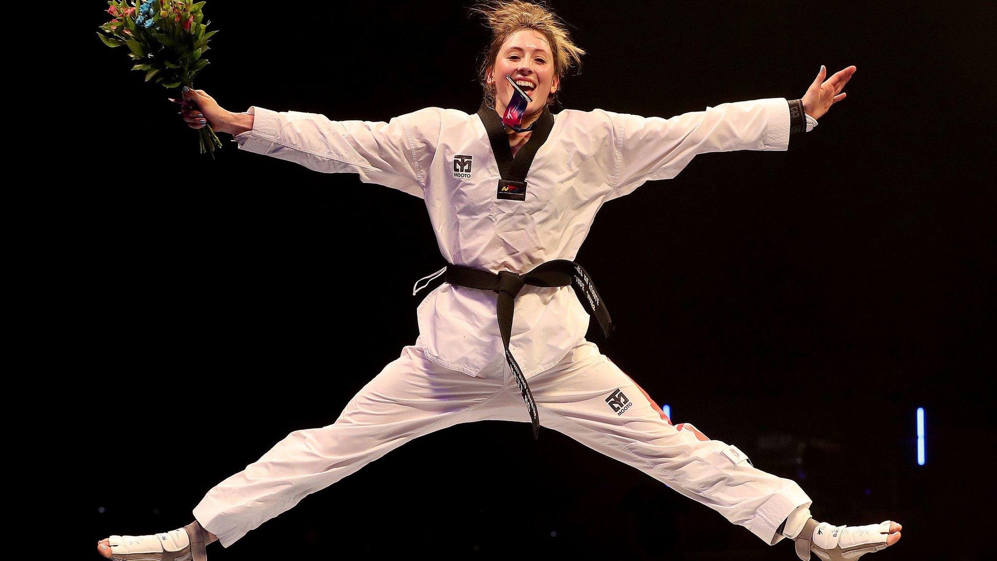 World Taekwondo Championships: Jade Jones wins first world title