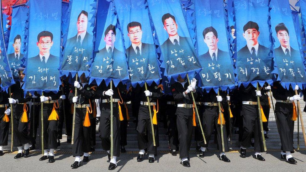 Acto en memoria de las víctimas del hundimiento del Cheonan.