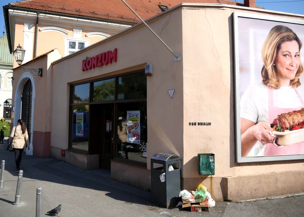 El cierre de la cadena de supermercados Agrokor puede hacer caer la economía de Croacia.