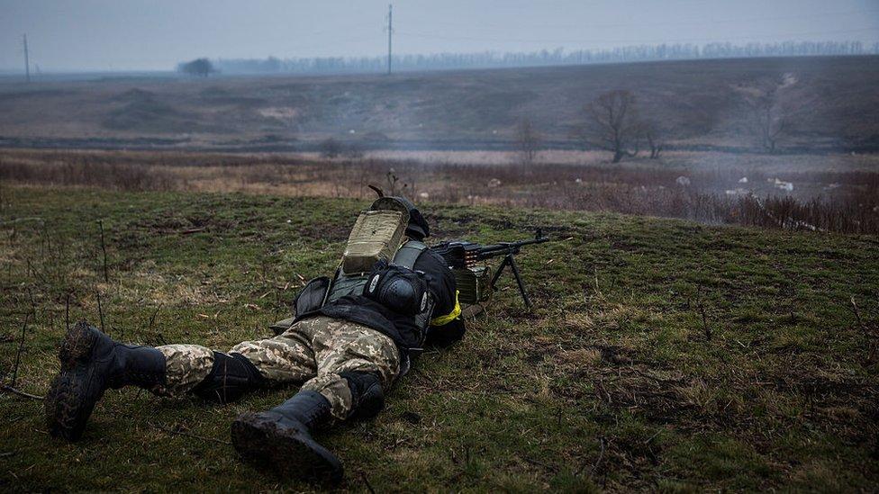 На Донбассе погибли пятеро украинских военных