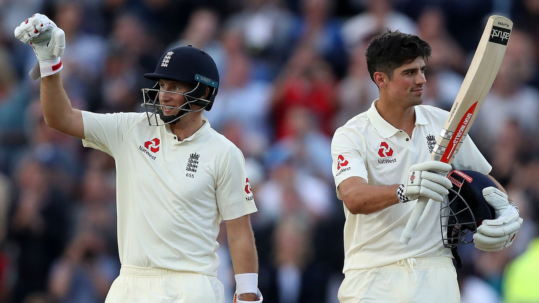 Cook & Root hit centuries as England dominate - report & highlights