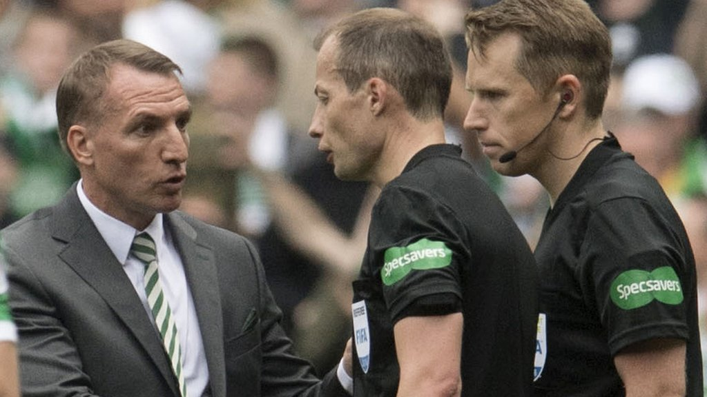 Brendan Rodgers: Celtic manager wants full-time referees