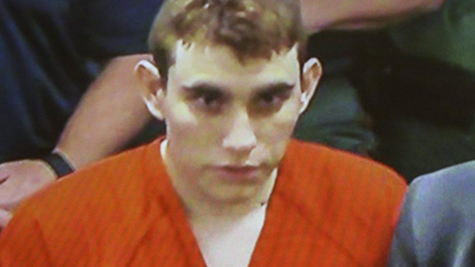 Nikolas Cruz en la corte