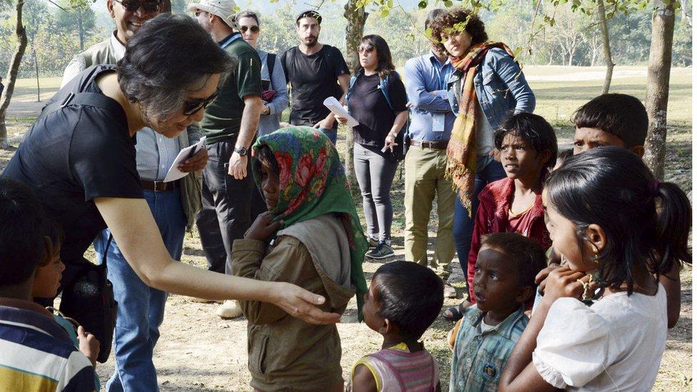 বিদেশি দূতাবাসের সামরিক কর্মকর্তাদের কেন রোহিঙ্গা শিবিরে নেয়া হচ্ছে