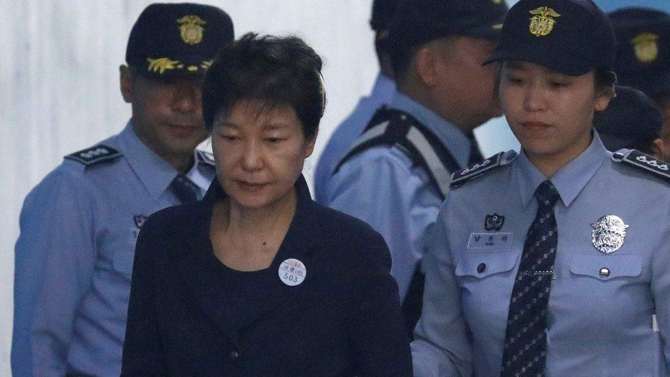 Nam Hàn: Phiên tòa xử cựu tổng thống Park bắt đầu