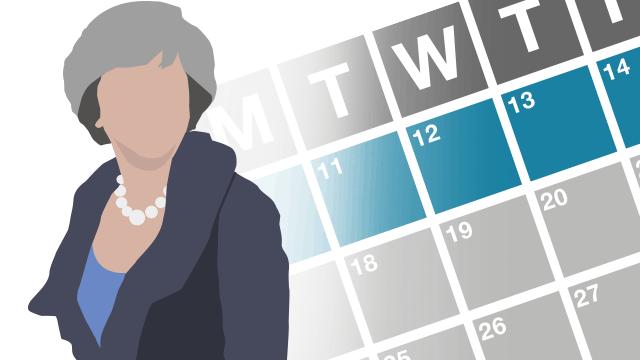 Theresa May's week in charts