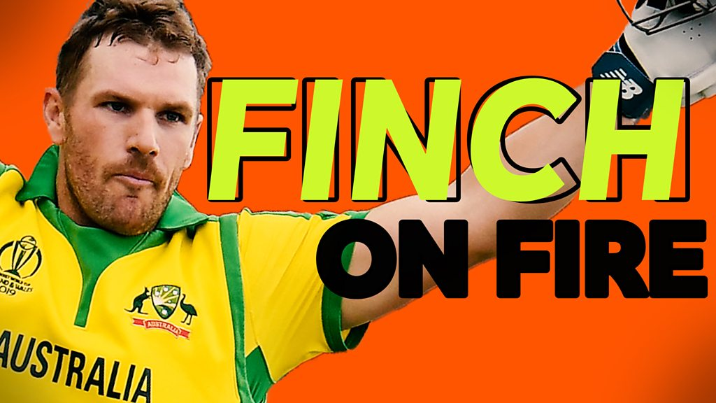 Cricket World Cup: Watch Aaron Finch's best shots in his 153 for Australia