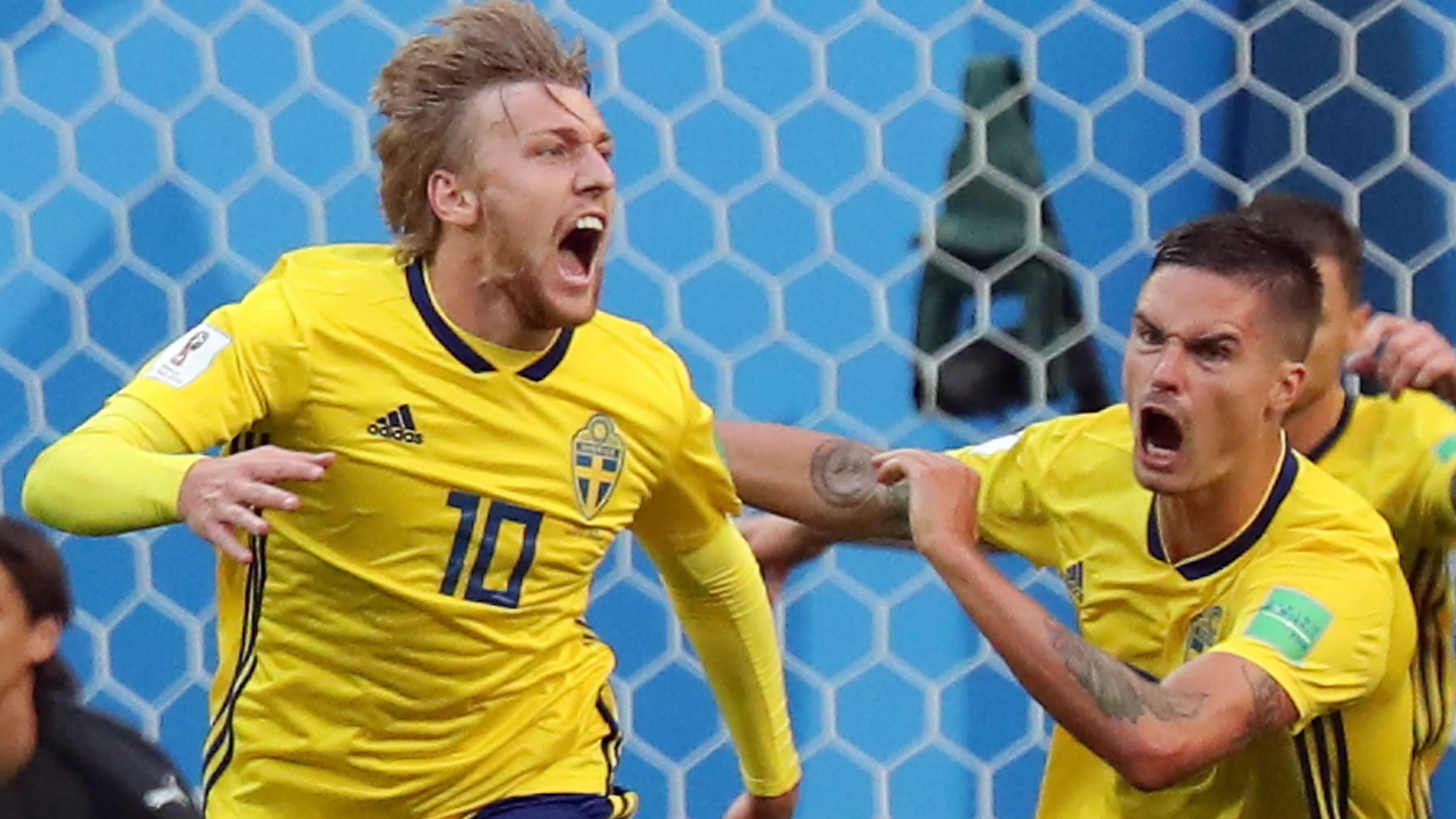 World Cup 2018: Emil Forsberg sends Sweden into last eight with 1-0 win over Swiss