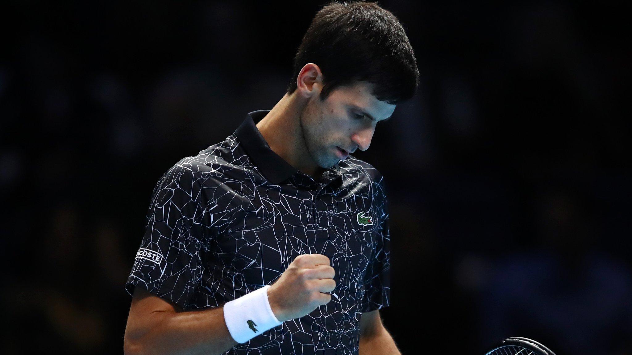 ATP Finals: Novak Djokovic beats Kevin Anderson to reach final