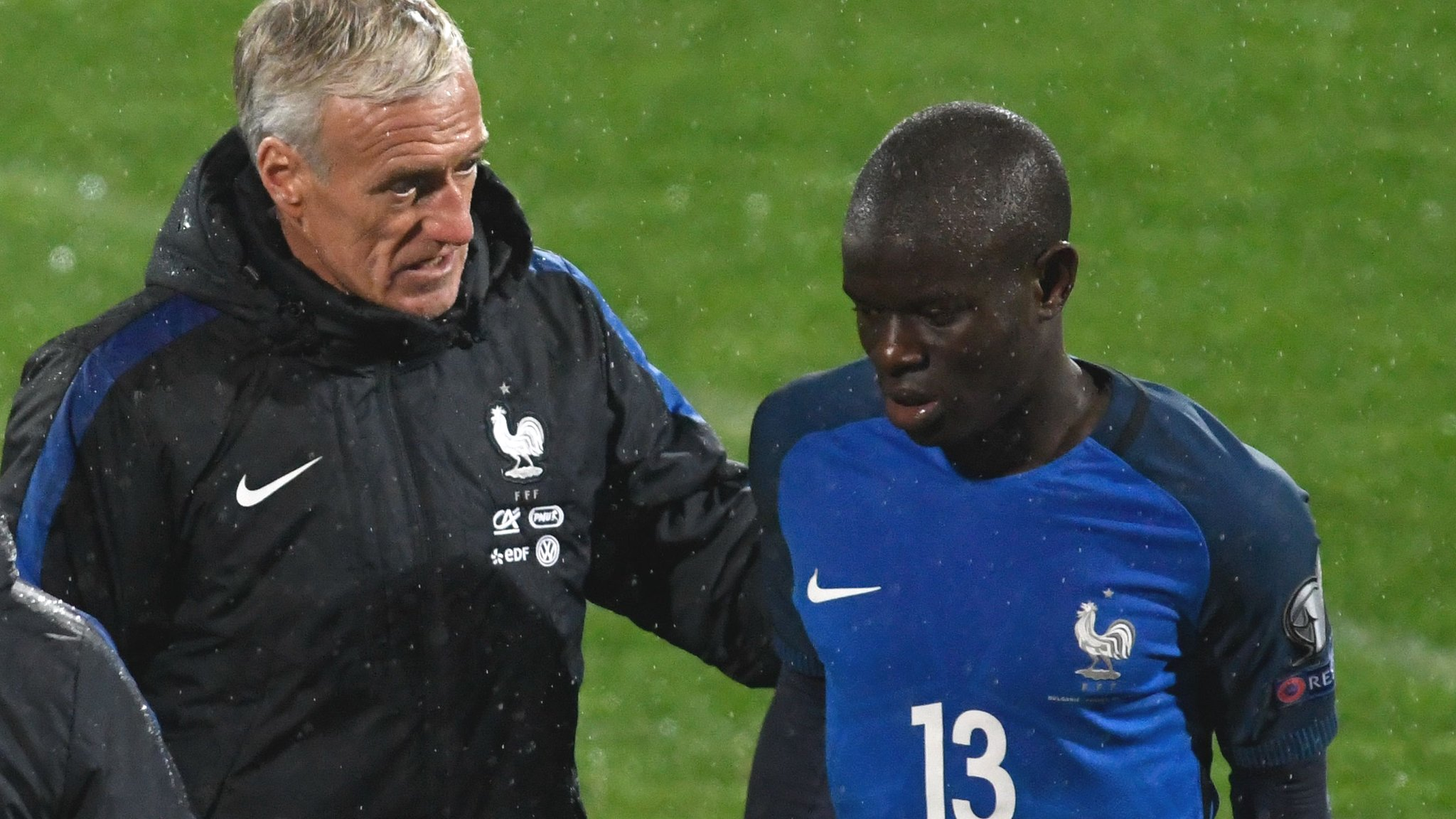 Chelsea's Kante out for three weeks with hamstring injury