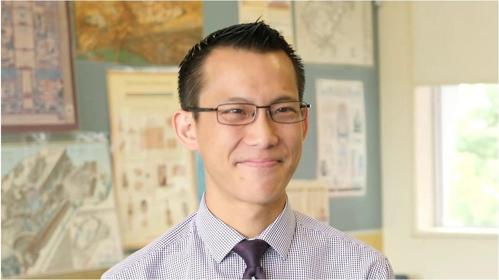 Eddie Woo: The maths teacher who became an unlikely star
