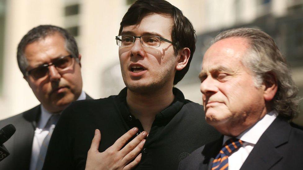 Martin Shkreli el pasado mes de agosto cuando un jurado lo declaró culpable de varios cargos por fraude.