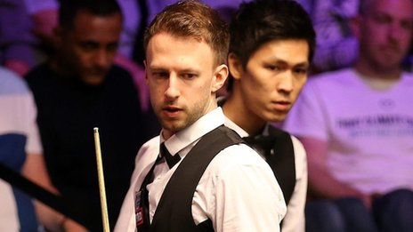 World Snooker Championship: Trump wins after Un-Nooh miscue
