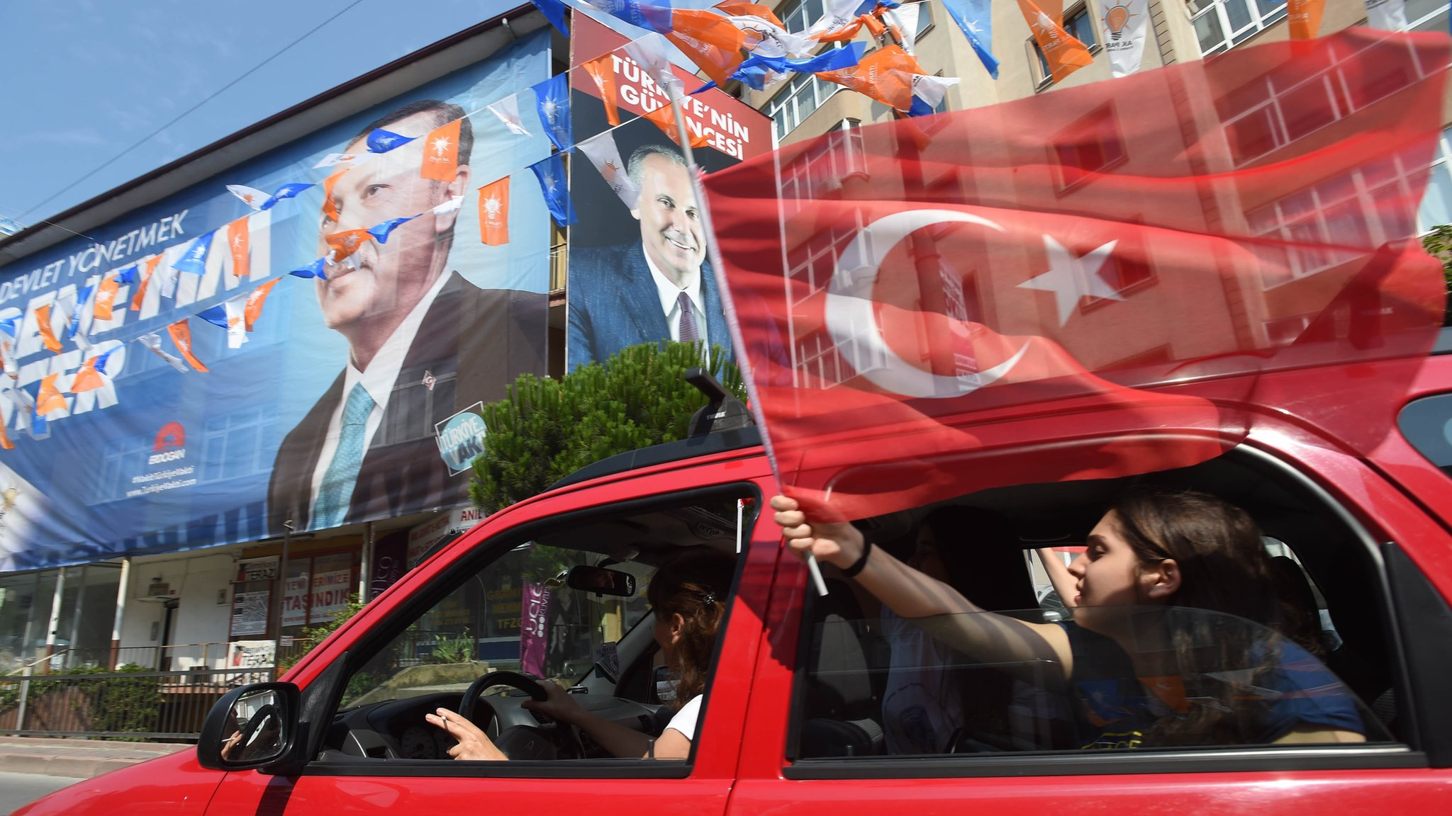 Turkey election: Erdogan seeks second term in hard-fought contest