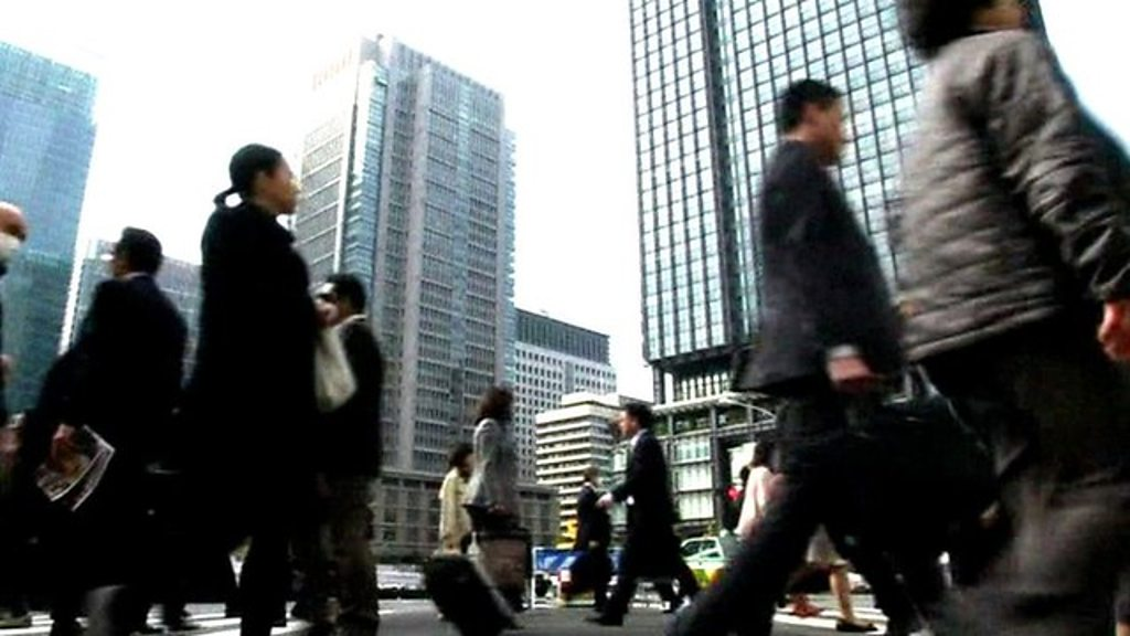 Why are Japanese workers being forced to go home early?