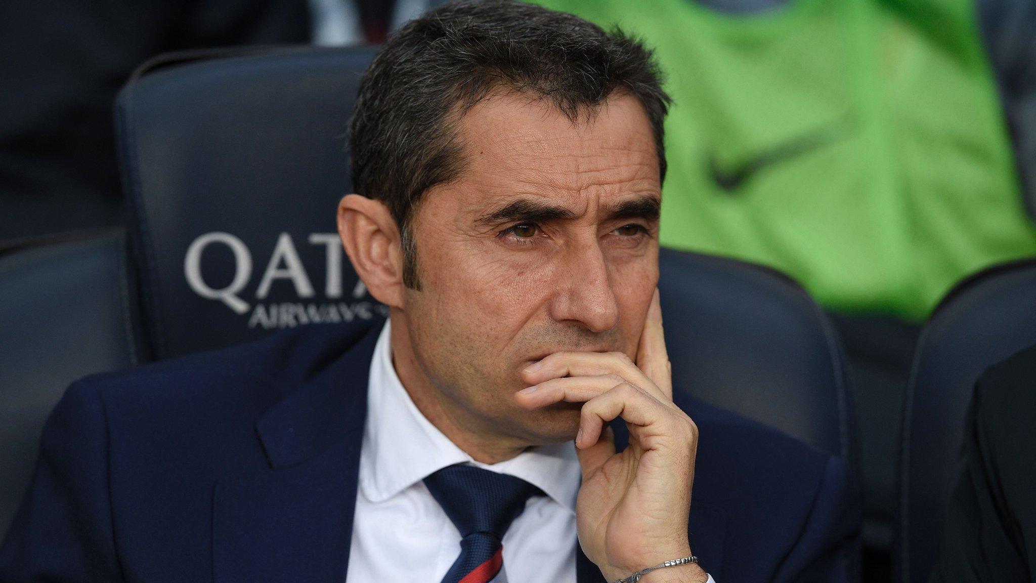Barcelona: Ernesto Valverde replaces Luis Enrique as manager