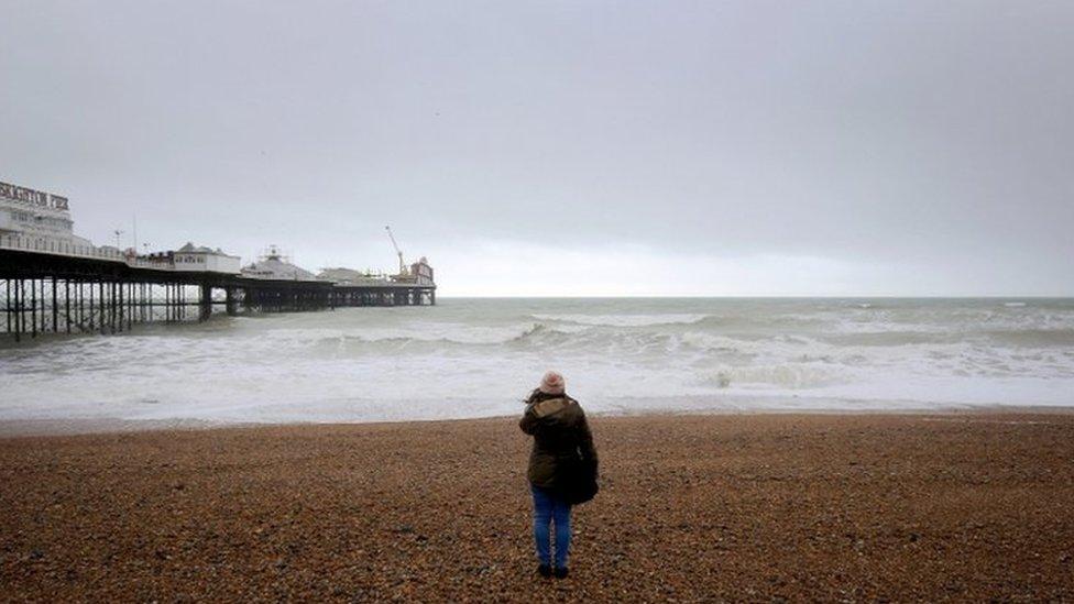 Storm Doris winds reach 87mph as it hits UK