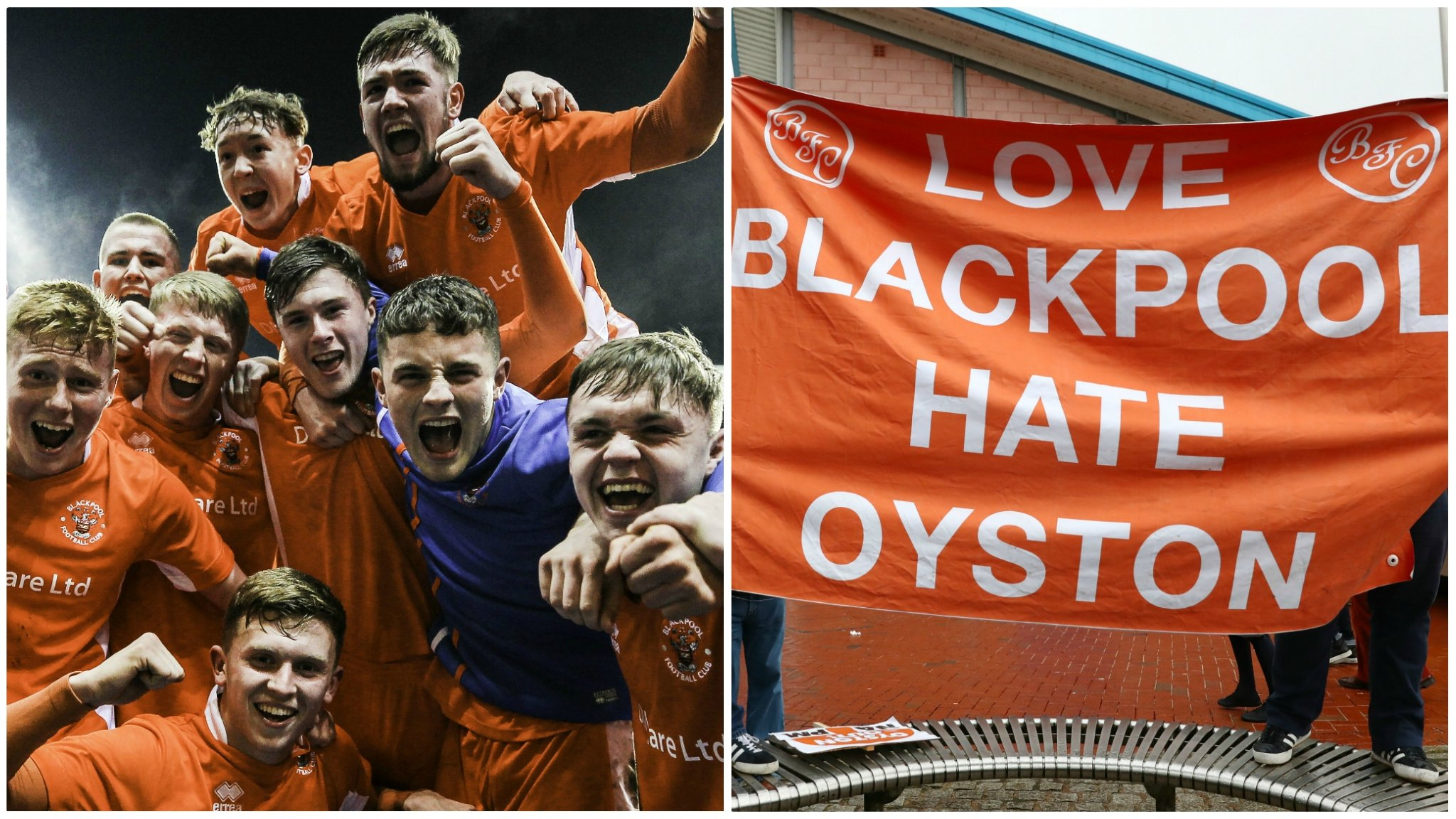 'Amid chaos at Blackpool, the brilliant youth team are caught in the crossfire'