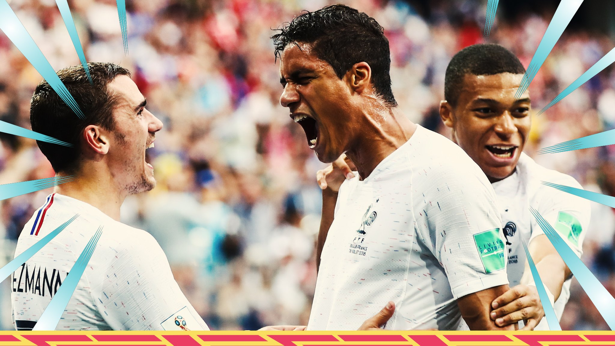 World Cup 2018: Uruguay 0-2 France highlights