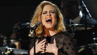 Adele 'best selling singer' of 2015