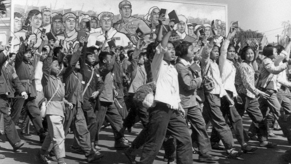 Guardias Rojos en 1966