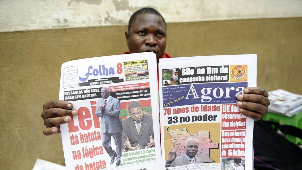 Angolan newspapers