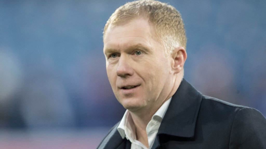 Paul Scholes: Man Utd great in Oldham Athletic manager talks