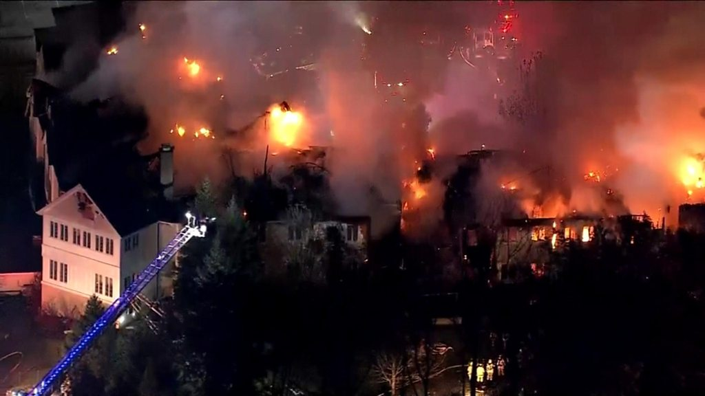 Fire engulfs Pennsylvania nursing home, injuring 20 people