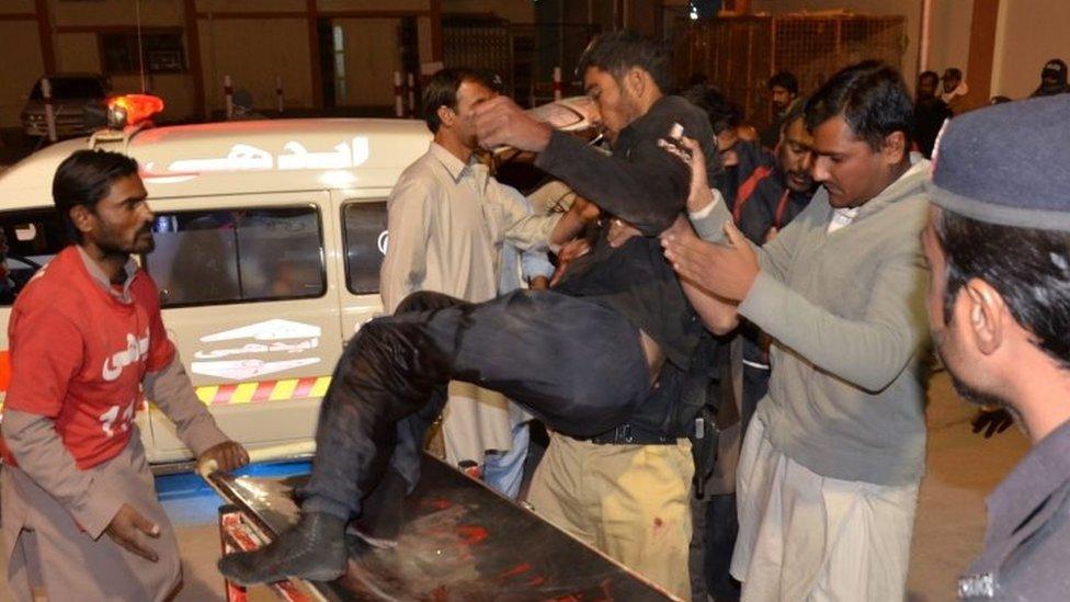 Quetta attack: Militants kill dozens at Balochistan Police College