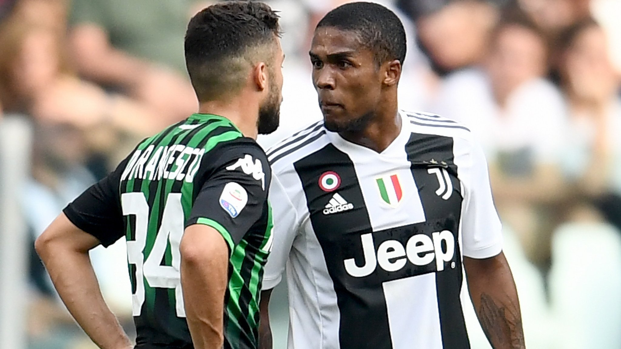 Douglas Costa: Juventus winger banned for four games for spitting