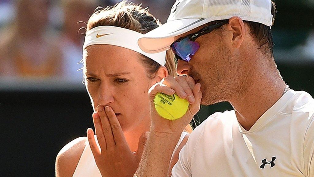 Murray & Azarenka lose mixed doubles final
