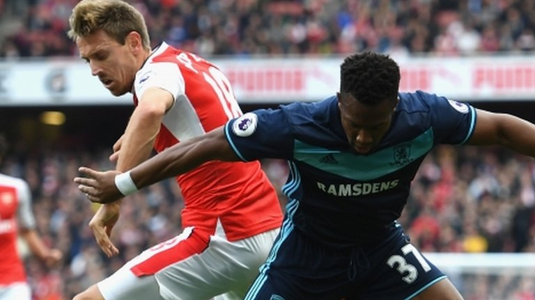 Middlesbrough draw frustrates Arsenal