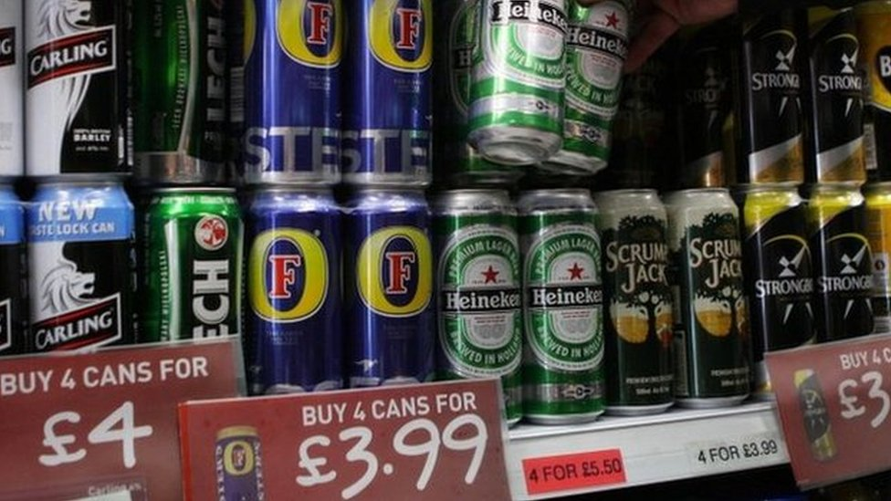 Euro 2016: Football alcohol adverts seen 'once a minute'